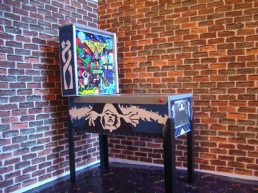 Timewarp  1/12th Scale Miniature Pinball Table Model
